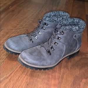 grey sonoma ankle boots